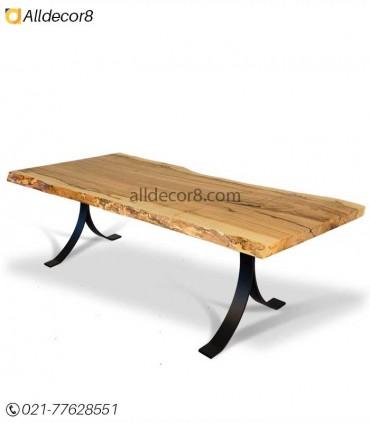 پایه فلزی مناسب برای میز اسلب مدل تانژانت