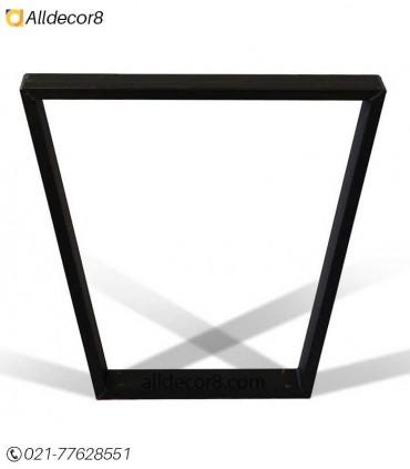 پایه فلزی مناسب میز اسلب مدل گلدانی