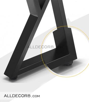 پایه فلزی میز مدل تراینگل
