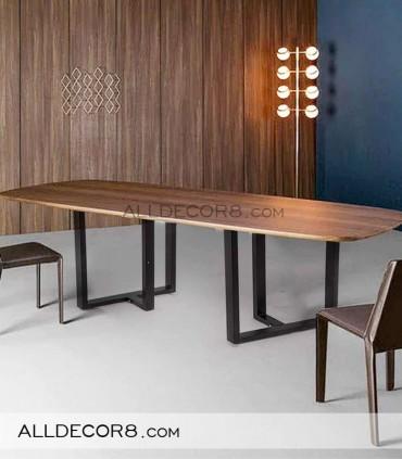 پایه فلزی میز مدل تی فریم