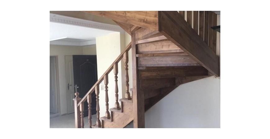 همه چیز در مورد پله های تمام چوب