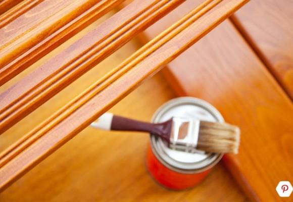 رنگ کردن چوبهایی که در فضای باز قرار دارند