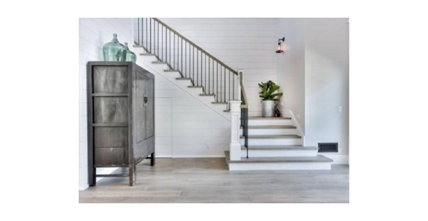 10 مدل جذاب برای راه پله و نرده چوبی خانه دوبلکس